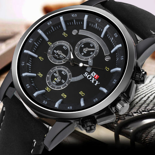 Relogio Masculino Analog Sport Watch - Quartz Movemant