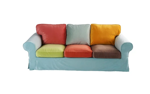 Colorful Patchwork Sofa Cover