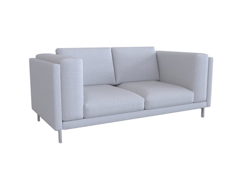 Nockeby 2 Seat Sofa Cover, Loveseat Cover - LindaKale