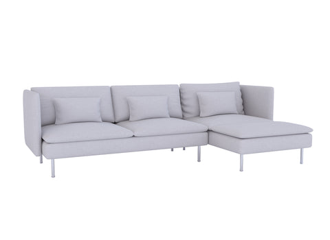Soderhamn Sofa with Chaise Cover - LindaKale