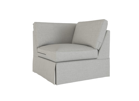 PB Basic Corner Cover, PB Basic sectional components slipcover - LindaKale