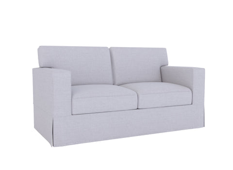 PB Comfort Sofa Cover, Square Arm, Box Edge - LindaKale