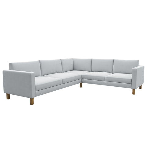 Landskrona 3+2 Corner Sofa Cover, Sectional Sofa Cover - LindaKale
