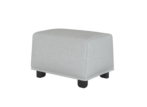 Gronlid Ottoman Cover, footstool Cover, without storage - LindaKale