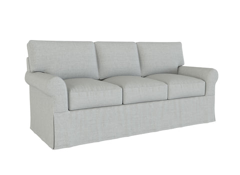 PB Buchanan Sofa Slipcover, Roll Arm, 87