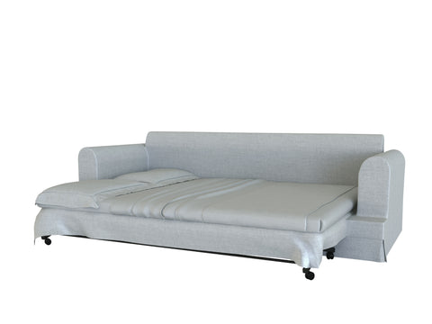 Ekeskog 3 Seat Sofa Bed Cover, Sleeper Cover - LindaKale