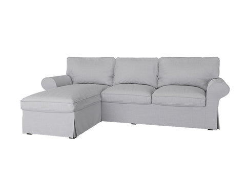 Uppland 3 Seat Sofa with Chaise Cover - LindaKale