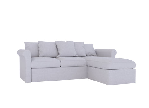 Gronlid 3 Seat Sofa with Chaise Cover - LindaKale