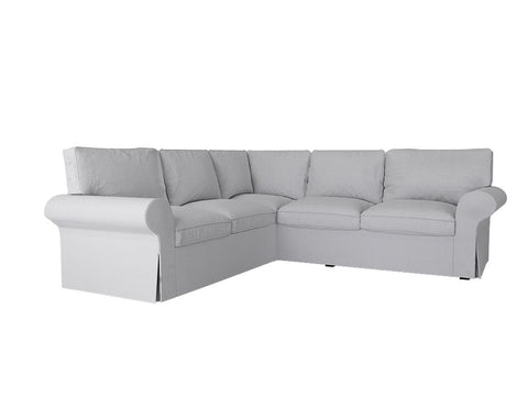 Ektorp 2+2 Corner Sofa Cover, 4 Seat Sectional Sofa Cover - LindaKale