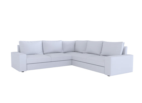 Kivik 5 Seat Corner Sofa Cover, Sectional Sofa Cover - LindaKale