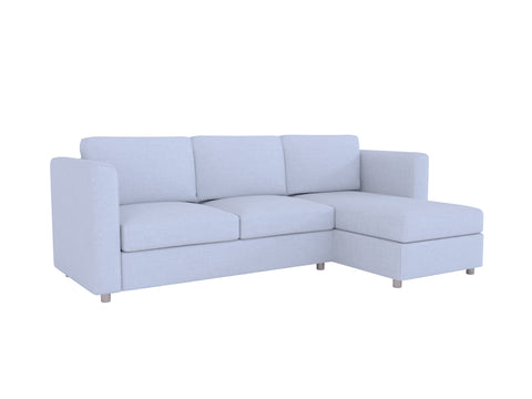 Finnala 3 Seat Sofa with Chaise Cover - LindaKale