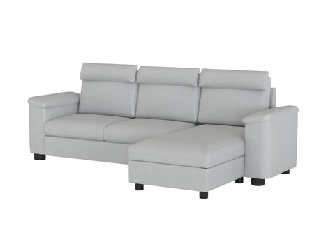 Lidhult 3 Seat Sofa with Chaise Cover - LindaKale