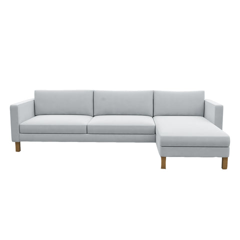 Karlstad 3 Seat Sofa with Chaise Cover 285cm (112.5