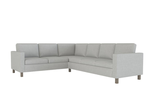 Karlanda 2+3 Corner Sofa Cover, Sectional Sofa Cover - LindaKale
