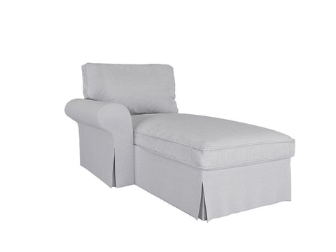 Ektorp Chaise Lounge Cover Left Cover - LindaKale