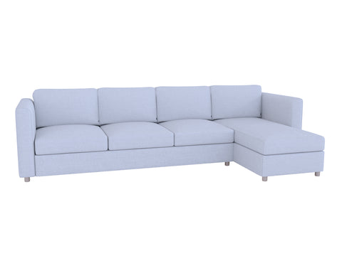 Finnala 4 Seat Sofa with Chaise Cover - LindaKale