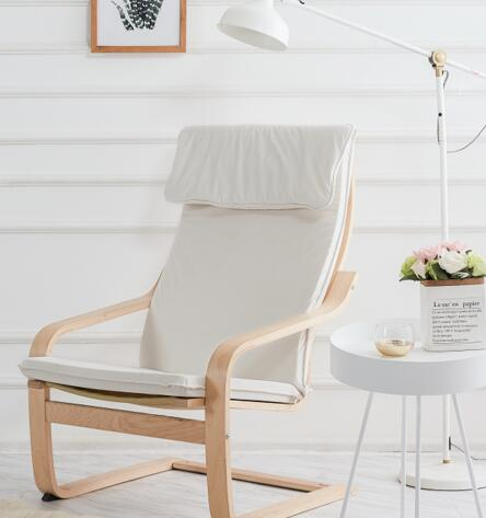 Poang Armchair Cover with headrest sewed on the top - LindaKale
