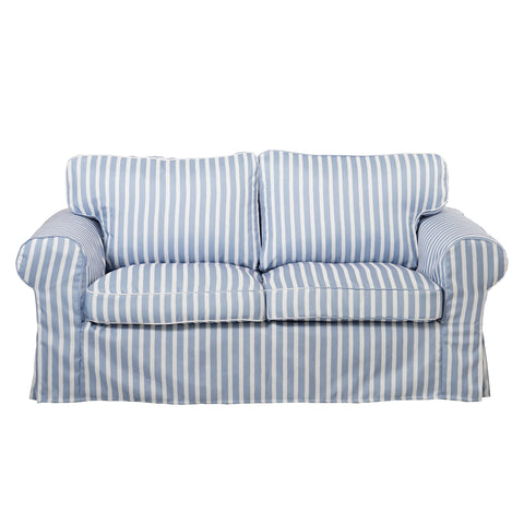 Stripe fabric sofa cover - LindaKale
