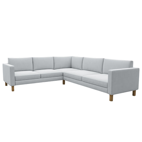 Landskrona 2+3 Corner Sofa Cover, Sectional Sofa Cover - LindaKale