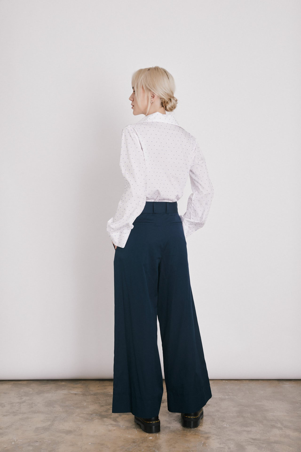SAILOR PANTS CROPPED