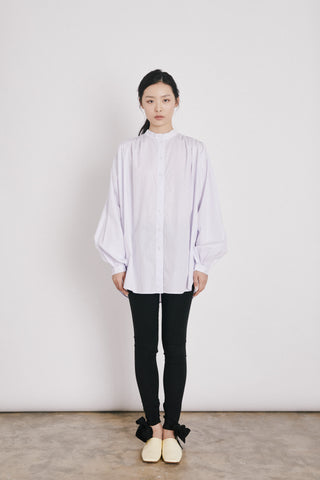 LONG BUBBLE BLOUSE