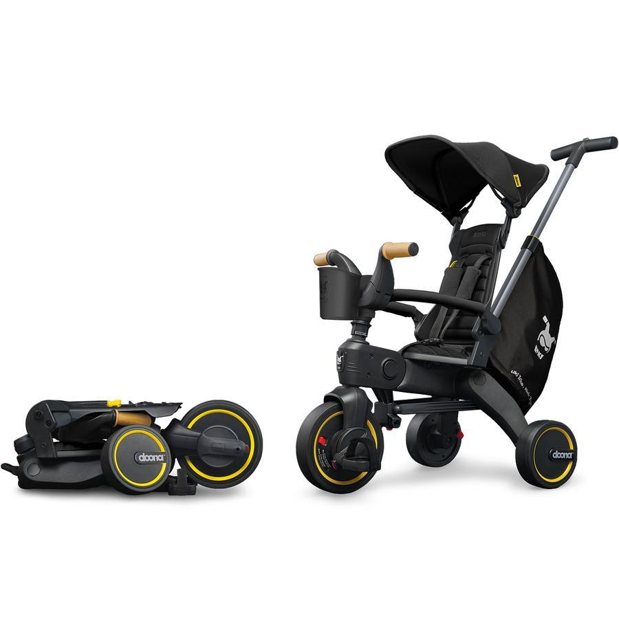 Doona™ Liki Trike S5 - Nitro Black Deluxe (Website Exclusive!!)