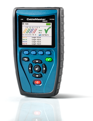 CableMaster 600 - Cable and PoE Tester