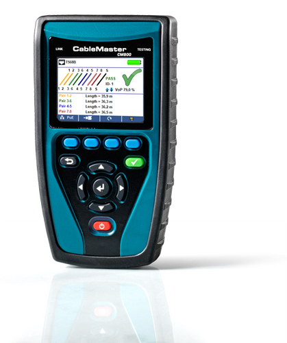 CableMaster 800 - Cable and IP Network Tester