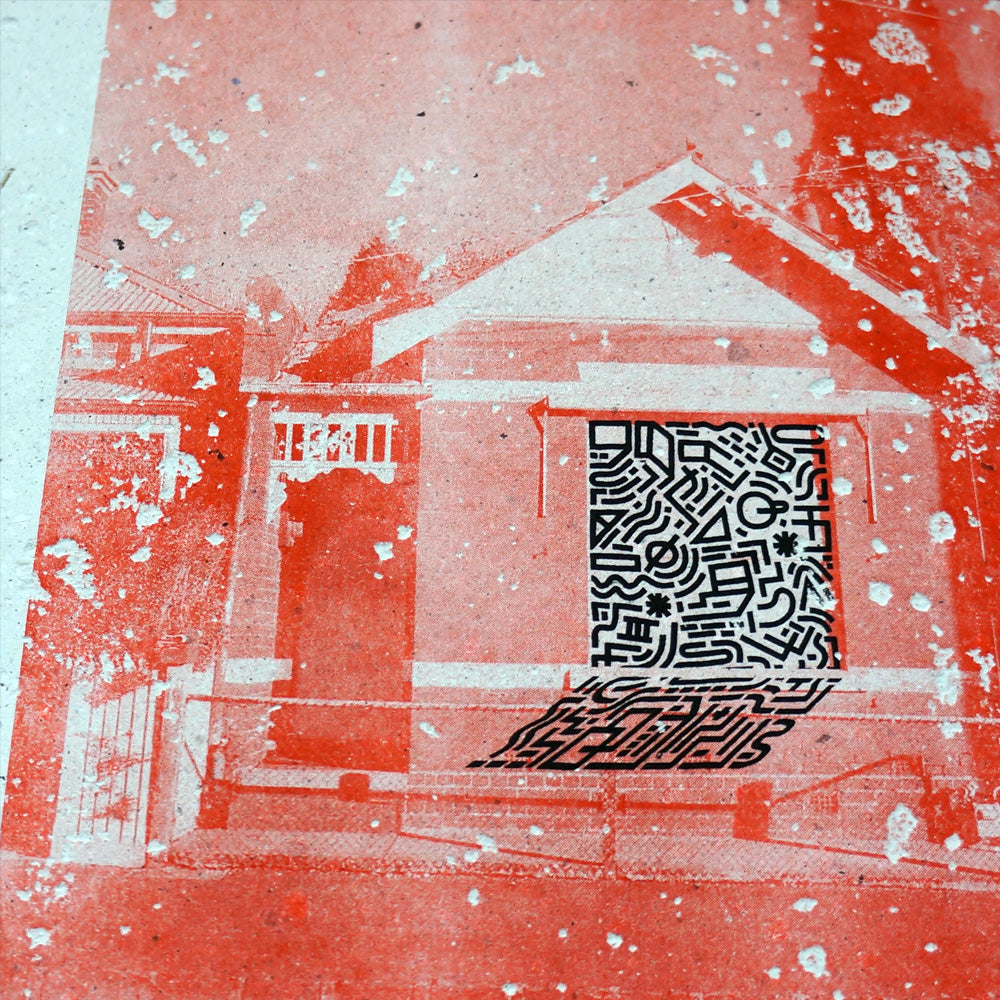 NOT HOME : RISO PRINT