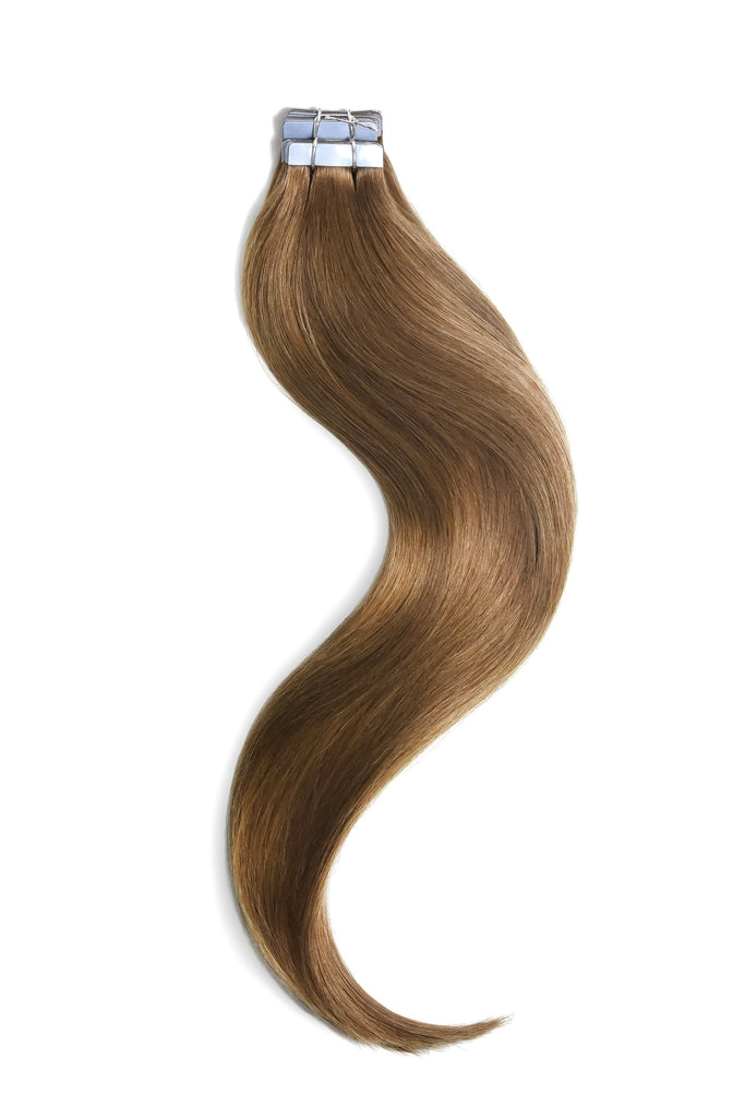 tape in hair extensions Light Auburn shade 30