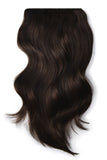 darkest brown hair extensions human hair 2