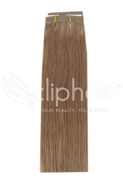 dark-blonde-14-human-hair-weft-weave