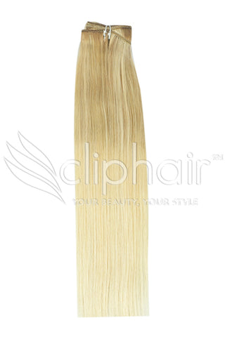 Remy Human Hair Weft/Weave Extensions - Ombre (#TP18/613)