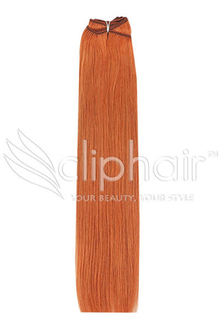 ginger-red-natural-red-350-human-hair-weft-weave