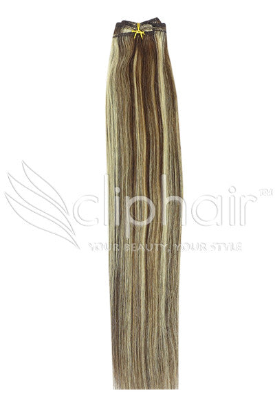 medium-brown-bleach-blonde-mix-4-613-human-hair-weft-weave