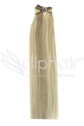 ash-brown-bleach-blonde-mix-9-613-human-hair-weft-weave