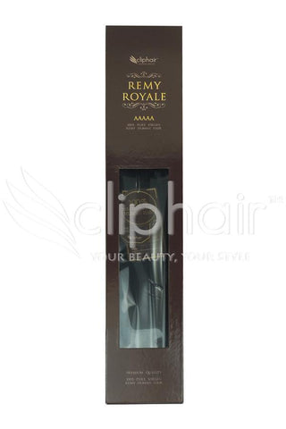 Royale human hair weft/weave Human Hair Extensions - Off/Natural Black (#1B)