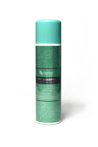 Cliphair Dry Shampoo for Hair Extensions human hair