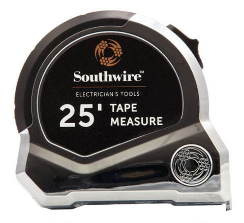 25' Tape Measure w/ Conduit Hook