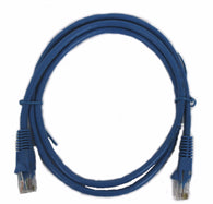 3' CAT5e UTP BLUE PATCH CABLE