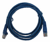 5' CAT5e UTP BLUE PATCH CABLE