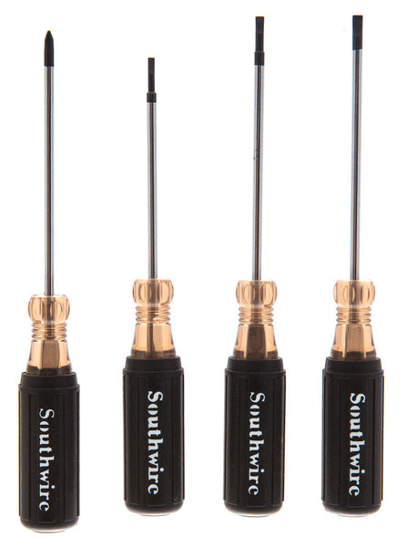 4-Piece Mini Screwdriver Set