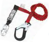 FP1053AC/6 Single Leg Fixed-Length Lanyard w/ Energy Absorber (E4/E6)