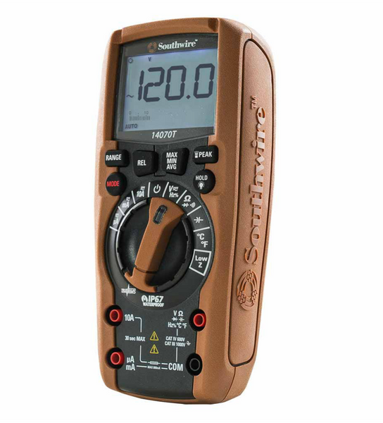 TechnicianPRO Auto Range TrueRMS CAT IV Multimeter
