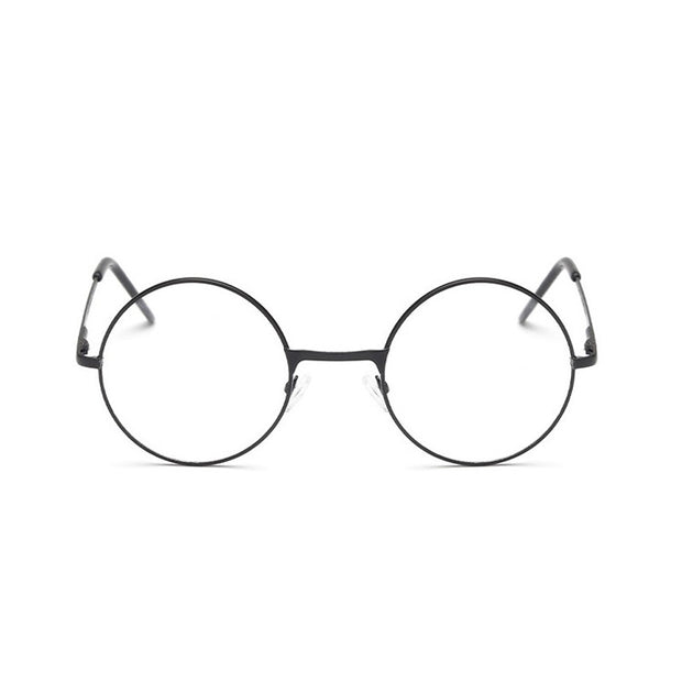 Crystal Clear Retro Glasses