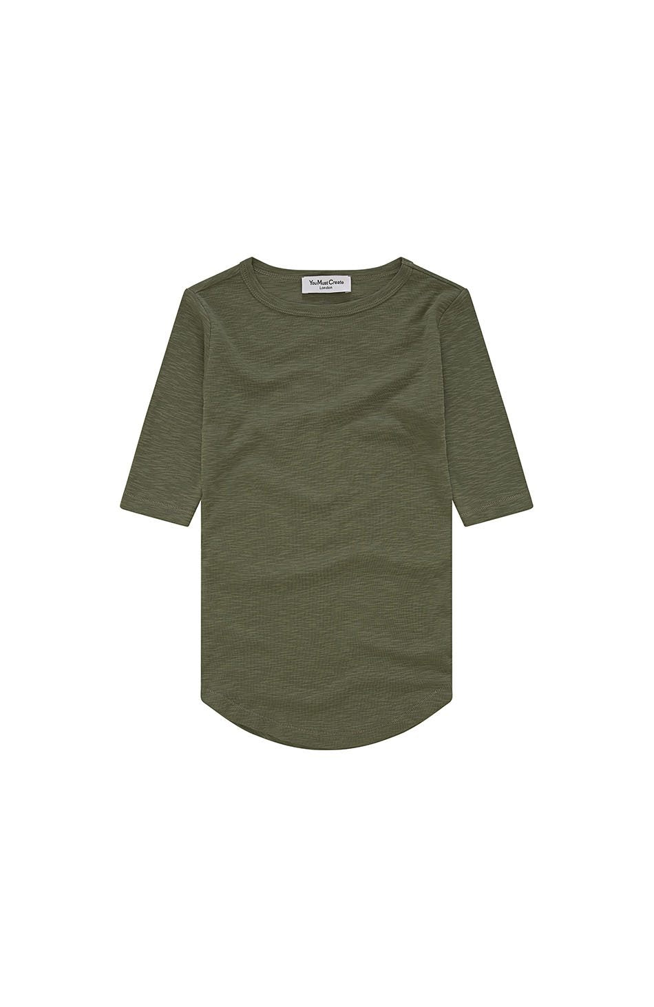 Charlotte T-Shirt in Olive