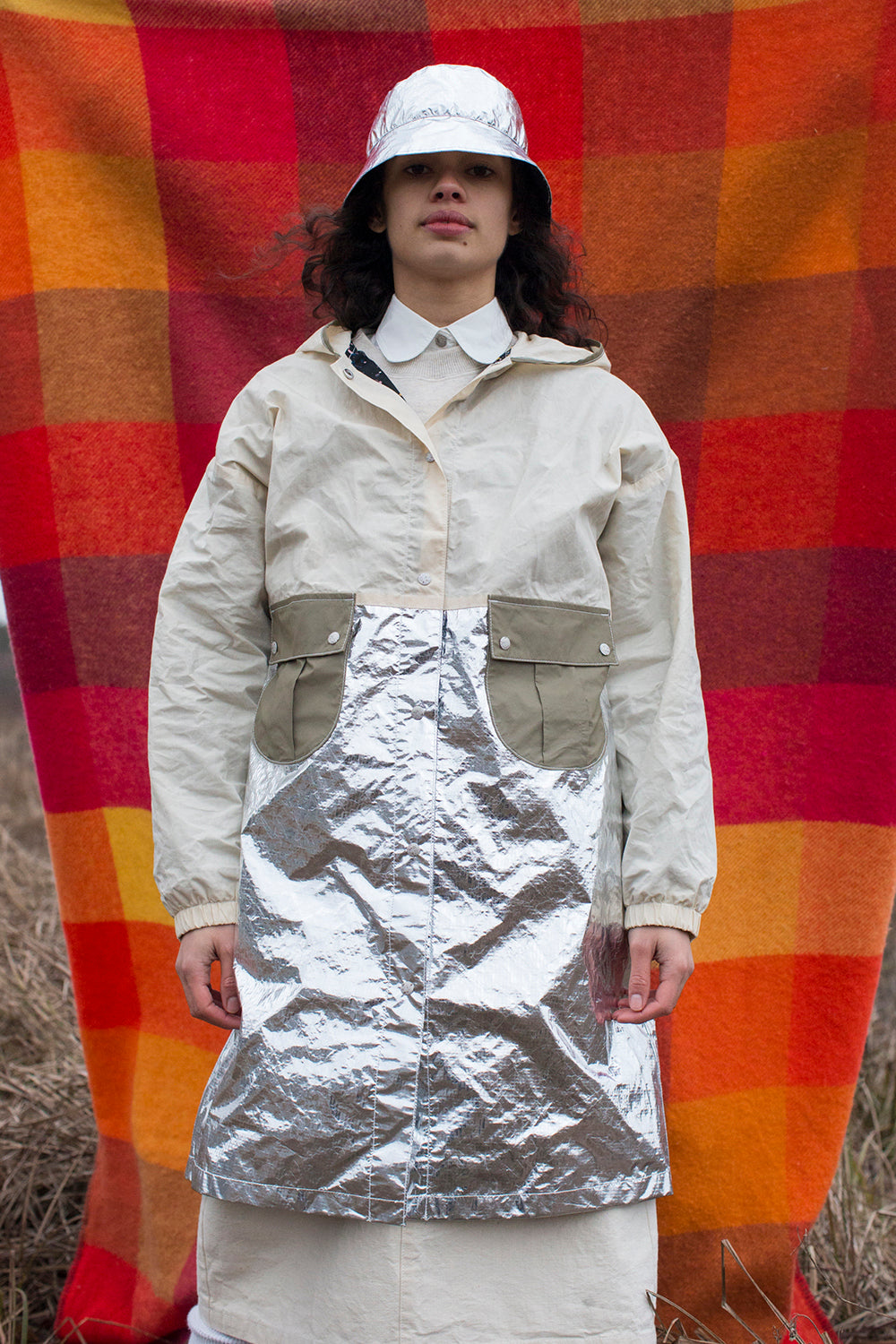 Galactic Weather Jacket in Silver