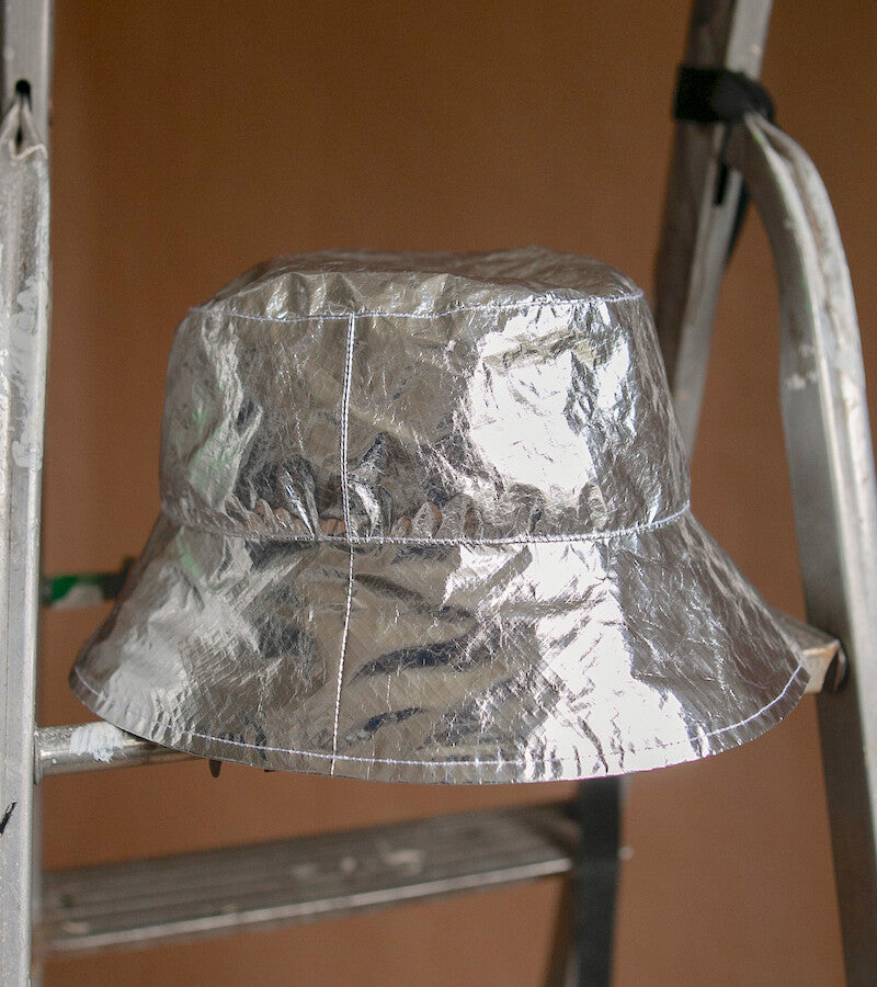 Conspiracy Hat in Silver