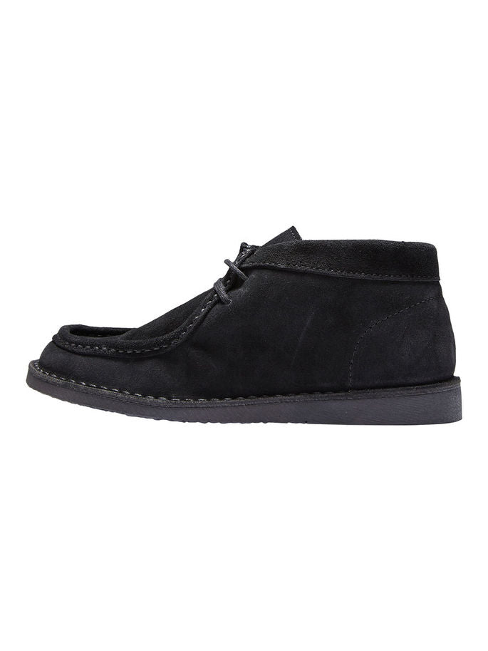 Ronja Boots in Black Suede