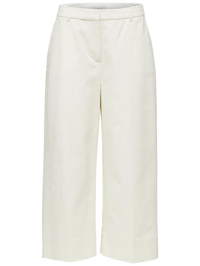Adele Cropped Trousers in Birch